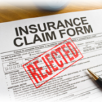 insurance claim rejected