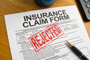 Insurance Claims Management - Claim Rejected