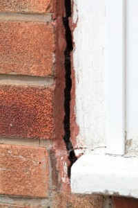 Is is subsidence damage or just badly installed window?