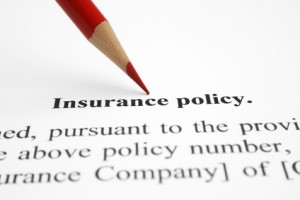 Dangers of Under Insurance - Picture of Insurance Policy wording