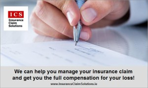 filling a claims form