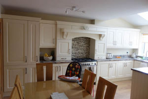 Kitchen after the repairs
