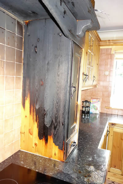 Kitchen Fire Damage Claim in County Meath - Insurance CLaim Solutions