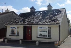 Fire Damage Claim - The owner accidentally sets fire to his home in Co. Leitrim