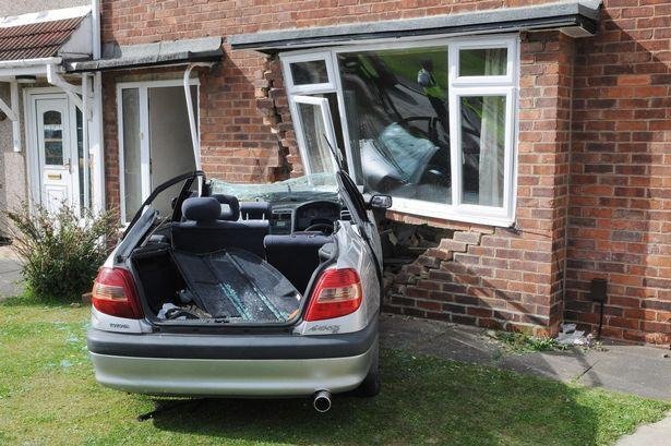 impact damage claims | vehicle impact damage to a house