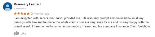 Google Review delighted with service