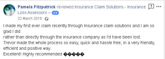 FaceBook review - first ever claim
